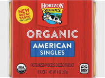 Organic Cheese Singles product image.
