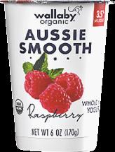 Organic Creamy Australian Low Fat Yogurt product image.