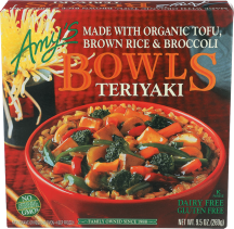 Amy's Frozen Meals Made with Organic Ingredients 9.5 OZ Select Varieties product image.