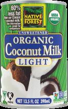 Organic Light Coconut Milk product image.