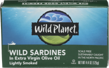 Lightly Smoked Wild Sardines product image.