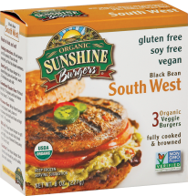 Organic Veggie Burgers product image.