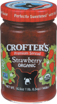 Crofters Organic Premium Spread All Varieties16.5 OZ product image.