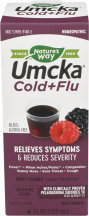 Umcka Cold & Flu Syrup product image.