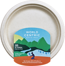Compostable Plates product image.