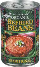 Organic pinto beans prepared in the traditional way. product image.