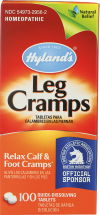 Leg Cramps Relief product image.