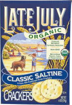 These great-tasting crackers are organic, kosher & trans-fat free. product image.