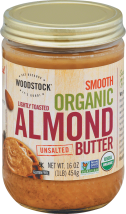Processed with minimal additional heat to preserve the delicate almond flavor. product image.