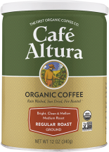 Organic Ground & Instant Coffee product image.