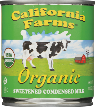 Organic Sweetened Condensed Milk product image.