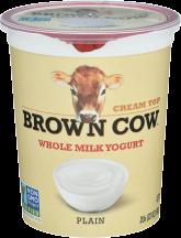 Cream Top Whole Milk Yogurt product image.