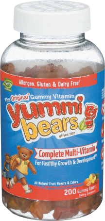 Yummi Bears Multi Vitamins product image.