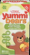 Yummi Bears Gummy Vitamins product image.