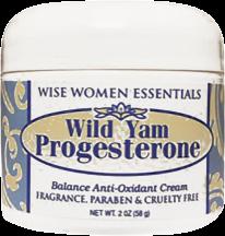 Wild Yam & Progesterone product image.