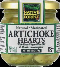 Marinated Artichoke Hearts product image.