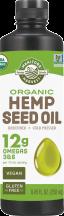 Organic Hemp Seed Oil product image.