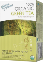 100% Organic Green Tea product image.