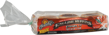 Organic Sprouted Ezekiel 4:9 English Muffins product image.