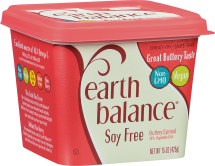 Famous Earth Balance® taste, vegan credentials, and cholesterol ratio without any soy based ingredients. product image.