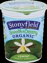 Organic Yogurt product image.