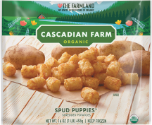 Organic Frozen Potatoes product image.