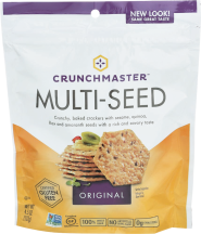 Packed with delicious toasted seeds and is lightly seasoned with wheat free tamari soy sauce. product image.
