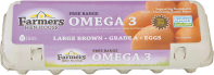 Grade A Large Omega Brown Eggs product image.