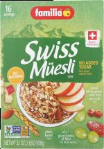 Swiss Muesli product image.