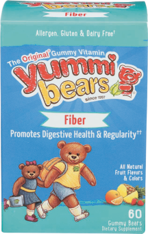 Yummi Bears Fiber Supplement product image.