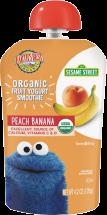Organic Fruit Yogurt Smoothie product image.