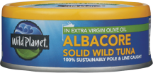 Canned Wild Albacore Tuna product image.