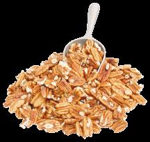 100% Organic Pecans product image.