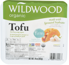 Organic Sprouted Tofu product image.