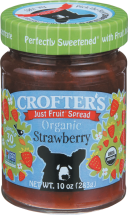 Organic Just Fruit Spread product image.