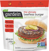 Ultimate Beefless Burger product image.