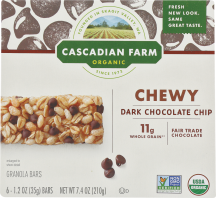 Organic Chewy Granola Bars product image.