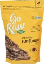 Organic Sprouted Sunflower Seeds product image.