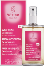 Wild Rose Spray Deoderant product image.