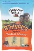 Organic Cheddar String Cheese product image.