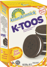 KinniTOOS Sandwich Creme Cookies product image.