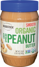 An easy-spread peanut butter. product image.
