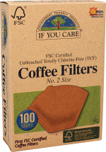 #2 Brown Cone Coffee Filter product image.