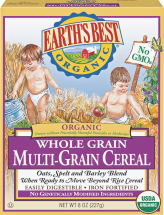 Organic Oatmeal Cereal product image.