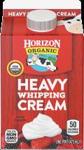 Organic Heavy Whipping Cream product image.