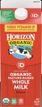 Organic Whole Milk product image.