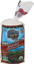 Organic Wild Rice Cakes product image.
