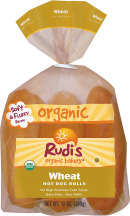 Any hot dog - beef, turkey or tofu - will taste great in these hearty rolls. product image.