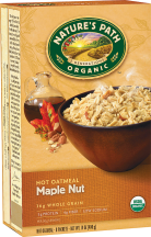 Nature's Path certified organic hot cereal is nutritious, tasty, healthy and wholesome - part of a healthy heart conscious diet. product image.