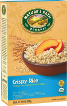 Organic Crispy Rice Cereal product image.